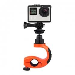Držač za bicikl / motor sa rotacijom za GoPro