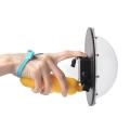 Vodootporno kućiste za GoPro Hero 4 / 3+ sa staklenim dodatkom za snimanje ( DOME )
