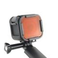 Filter za podvodno snimanje GoPro Hero 4 Session crveni ljubičasti