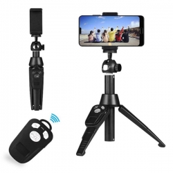 Selfie stick bluetooth K8 + tripod stativ