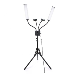 2x LED lampa 2x holder za mobilni telefon RK39