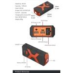 Auto starter multipower bank i lampa HK-A9 13800mAh 12V