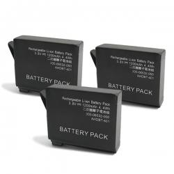 Baterija za GoPro Hero 4 1200mAh
