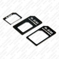 Micro - Nano SIM adapteri 3u1