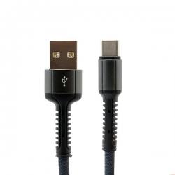 USB data kabal LDNIO LS63 MicroUSB iPhone i Type C 1M