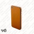 Fake Wood Skin za iPhone 4 - 4s