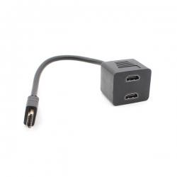 Adapter HDMI M na 2 HDMI Z JWD-HDMI21