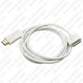 Apple dock connector to HDMI cable