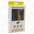 HDMI na VGA AV adapter