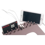 Podloga za miš i bežični wifi punjač