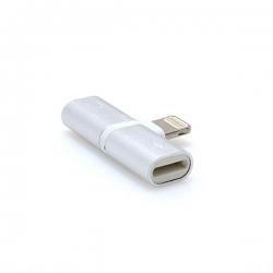 Adapter iPhone 7 8 X handsfree/charging
