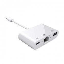 Lightning Apple na Gb LAN 3u1 kamera adapter