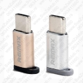 USB adapter MicroUSB/Type C REMAX