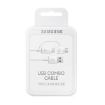 USB data MicroUSB kabl Samsung original sa Type C adapterom