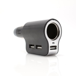 Auto punjač adapter HC3 3x USB 3A
