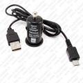 USB Auto punjač 1A sa Micro USB kablom