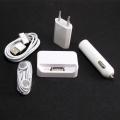 5u1 set USB kabl, kućni - auto punjač - slušalice, dock za iPhone 3G 3GS 4G