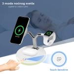 Bežicni punjač Magnetic za Apple Watch, Airpods i iPhone 3in1