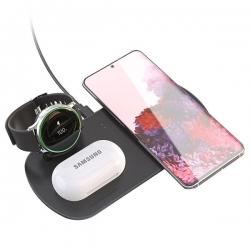 Bežični punjač za Samsung telefon, sat i slušalice XDL-WA07 3u1