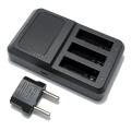 Punjač za GoPro Hero 4 bateriju 5V / 2.1A tri izlazna porta