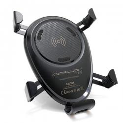 Drzač za mobilni telefon KONFULON + WiFi punjač CMQ01 FAST 2A