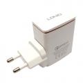 Kućni punjač LDNIO A1301Q USB 5V/3.0A FAST QC 3.0