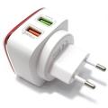 Kućni punjač LDNIO A2405Q 2x USB 5V / 4.2A FAST