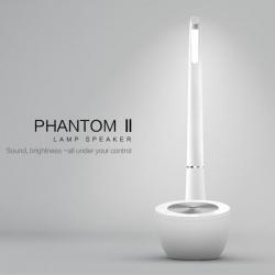 Nillkin wireless punjač bluetooth zvučnik i lampa S1 Phantom II