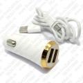 Auto punjač LDNIO DL-C28 2xUSB 5V/3.4A Micro USB