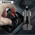 Auto punjač Remax Alien smart sa LCD ekranom 12V 3.4A (2 usb)