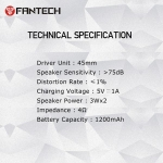 Zvučnik BS150 FANTECH