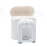 Slušalice I7S BT za Iphone 7 8 X bele sa punjačem