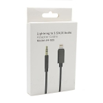 Adapter iPhone kabal na Aux 3.5mm JH-023