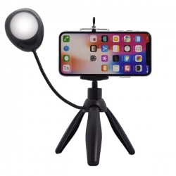 Stativ za mobilni telefon Selfie Studio sa lampom